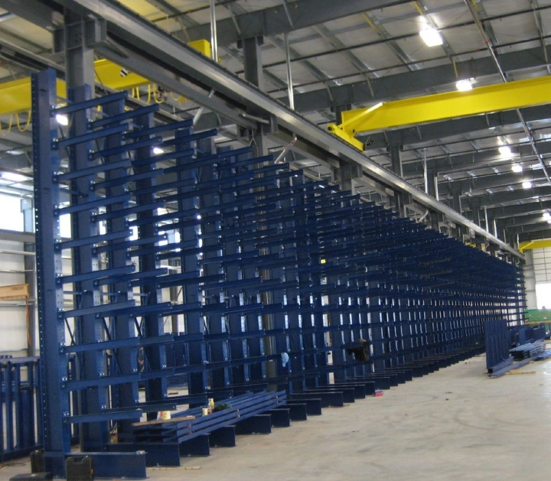 Cantilever Rack Installation