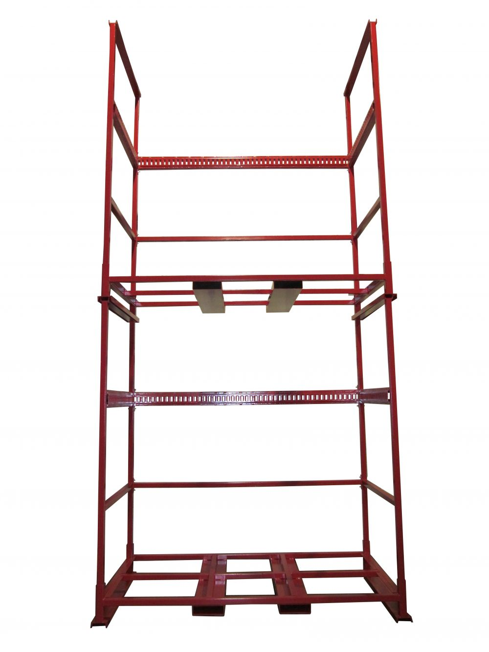 Double Stacked Millwork Racks