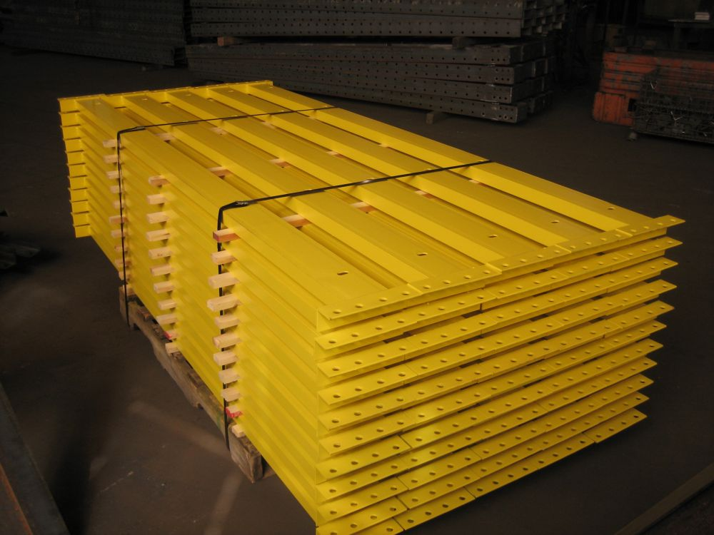 Structural Pallet Rack Beams