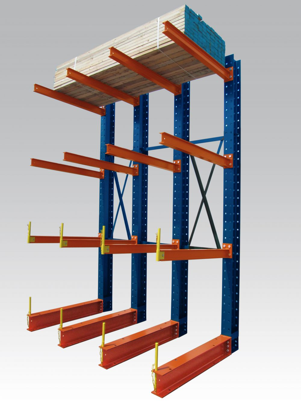 Anderson building materials cantilever racking for Decor systems