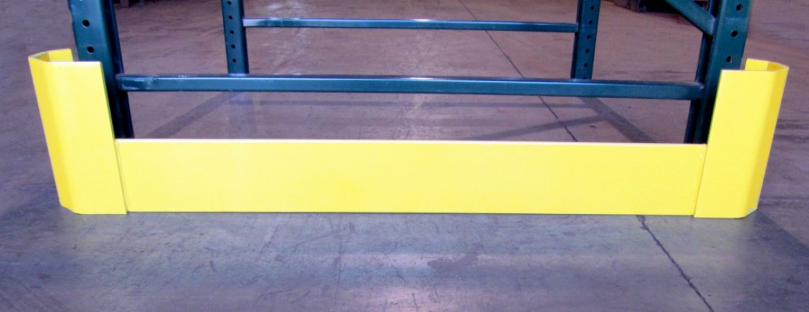 Details about  /Steel Fork Lift Rack Protectors Used